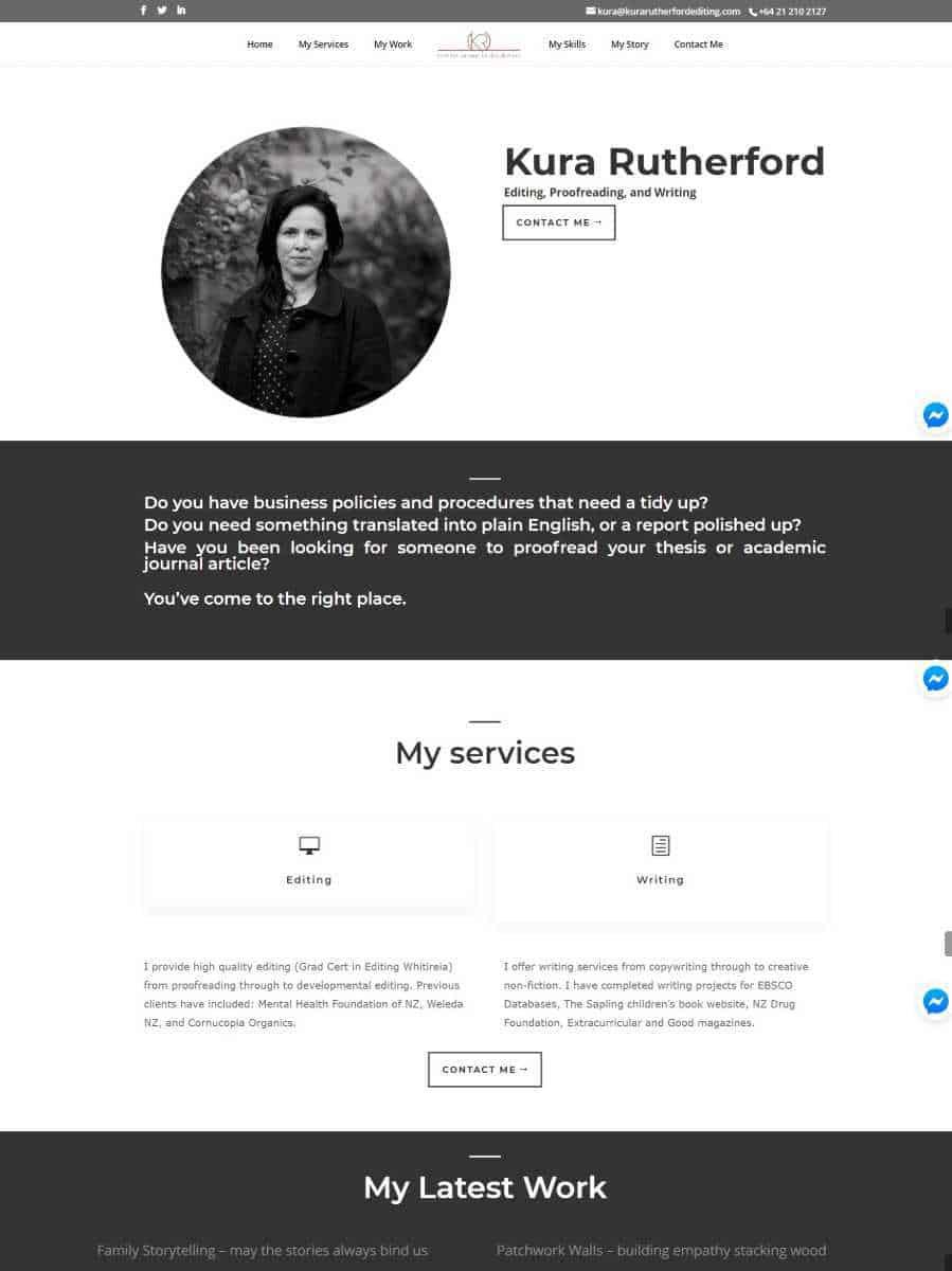 kura rutherford editing website